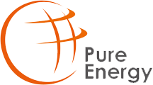 Pure Energy fotowoltaika logo